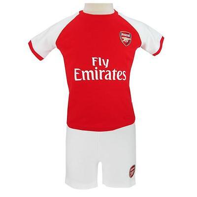 Arsenal FC Baby Kit Shirt and Shorts 100% cotton 100% Official AFC Item Gooners