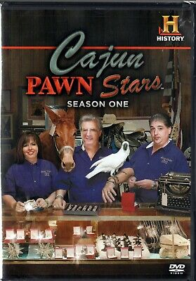 Cajun Pawn Stars: Season One (DVD, 2012)  FACTORY SEALED BRAND NEW