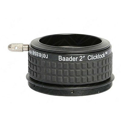 "Baader 2"" Clicklock Clamp for Zeiss Refractors w/ M68 Thread # CLZ-2 2956268"