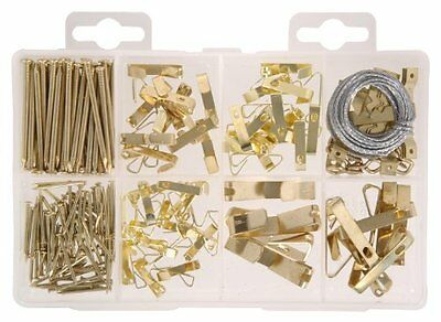 NEW The Hillman Group 591525 Medium Picture Hanger Assortment  200-Pack