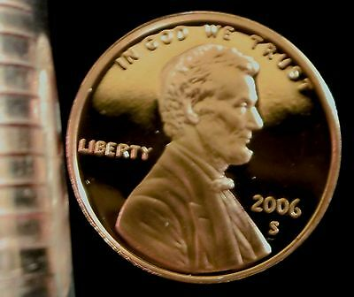 2006-S San Francisco Mint Lincoln Memorial Cent Proof