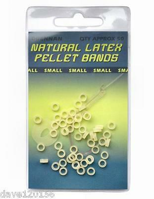 100x BRAND NEW BAIT BANDS LARGE FOR 10mm-25mm BAITS BROWN OR CLEAR POST FREE