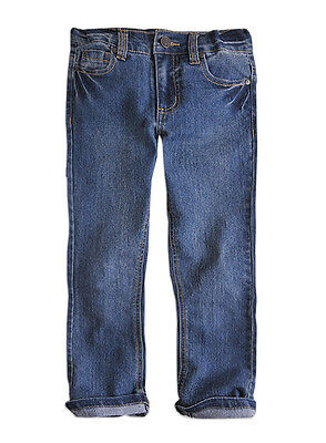 Pumpkin Patch Baby Girl's Skinny Blue Jeans, Age 6-12 mths, BNWT