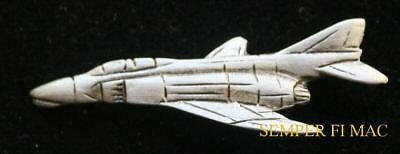 AUTHENTIC F-4B PHANTOM II PEWTER HAT PIN US MARINES NAVY AIR FORCE MAW CAG AFB