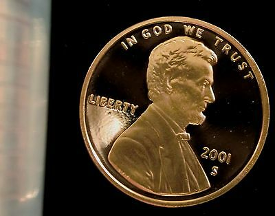 2001-S San Francisco Mint Lincoln Memorial Cent Proof