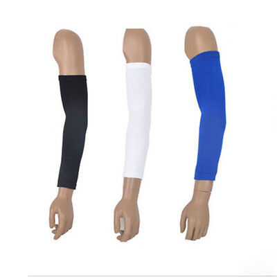 Sports Armlet Stretch Basketball Cycle Arm Long Sleeve Guard Protector Cotton