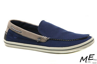 Shoes & Bags Timberland Men's Ekcascoby So Navy Blue Mocassins