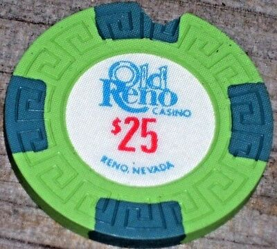 $25 1St Edt Gaming Chip From The Old Reno Casino Reno Nv