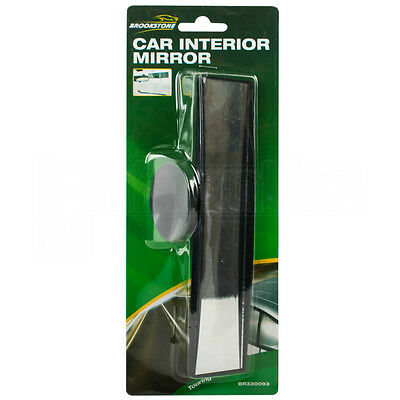 Universal Wide Angle Rear View Interior Mirror Suction Cup Learner Instructor