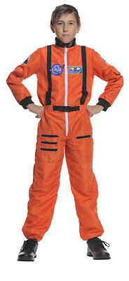 1e82948bf222 Astronaut Orange Suit Child Costume Nasa Jr. Career Space Moon Underwraps  26981