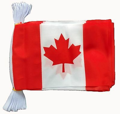 CANADA 3 METRE BUNTING 10 FLAGS flag 3M CANADIAN VANCOUVER OTTAWA