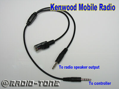 Radio-tone Adaptor Cable for Kenwood Mobile TK-5720 TK-5820 K-7100 TK-8100 Radio