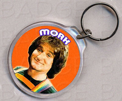 MORK and MINDY  KEYRING - DOUBLE SIDED!