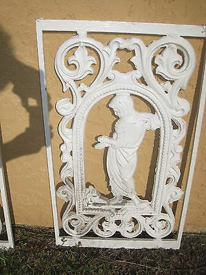Old painted cast iron Wall Decor
