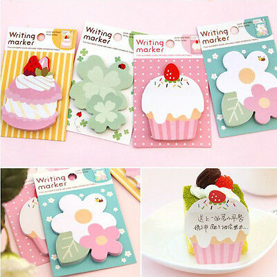 Cute Cartoon Sticker Post It Bookmark Marker Memo Pads Index Flag Sticky Notes