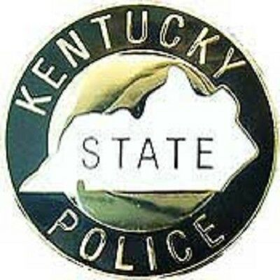 KY  KENTUCKY STATE POLICE PATCH MINI BADGE PIN - NEW POLICE PIN