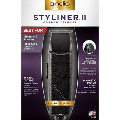 Andis Styliner II Corded Trimmer 26700 - Authorized Dealer