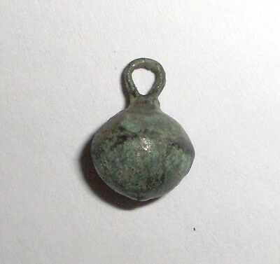 Ancient Byzantine Empire, 7th - 12th c. AD. Bronze Military Hollow Pendant