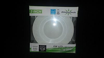 """LED Recessed Downlight - 3"""", 8W, 550lm, 3000K - Energy Star"""