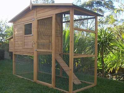 Chicken Coop EXTRA LARGE Somerzby MANOR Rabbit Hutch Cat Enclosure Run cage