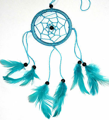 CAPTEUR/ATTRAPEUR DE REVE/DREAM CATCHER COUNTRY BLEU TURQUOISE dreamcatcher