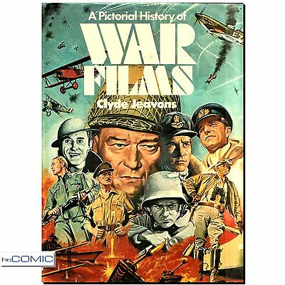 FILM BUCH, A Pictorial History of WAR FILMS Clyde Jeavons ISBN 9780600370130