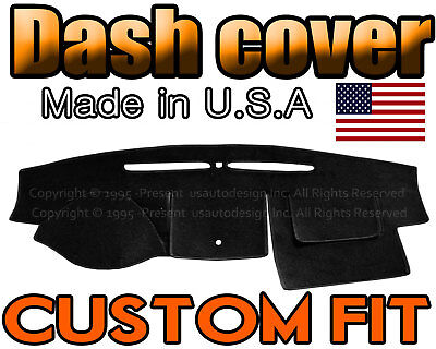 fits 2007-2012  FORD  FUSION  DASH COVER MAT DASHBOARD  PAD /  BLACK