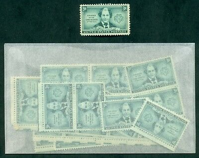 100 GIRL SCOUT STAMPS issued 65 years ago to honor G. S. Founder Juliette Low