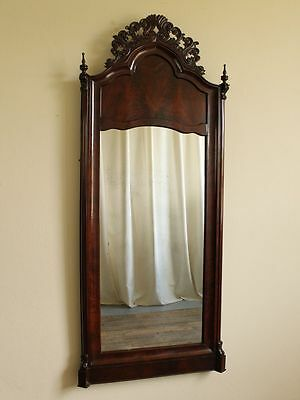 biedermeier spiegel nu baum original glas facettiert mirror. Black Bedroom Furniture Sets. Home Design Ideas
