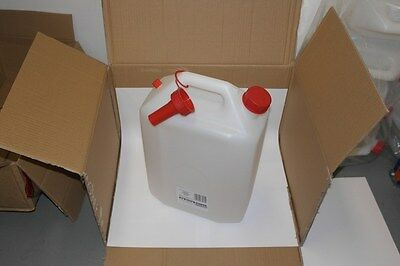 20 litre Water Container with cap & spout Sealey WC20