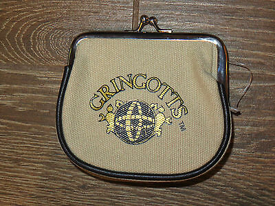 NEW Universal Studios Wizarding World of Harry Potter Gringotts Coin Purse NWT
