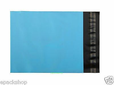 "Blue Poly Mailing Bags Plastic Envelopes Pouches 5.9"" x 7.9""_150 x 200+40mm"