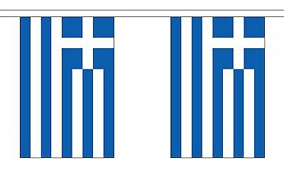 GREECE 3 METRE BUNTING 10 FLAGS flag 3M GREEK ATHENS