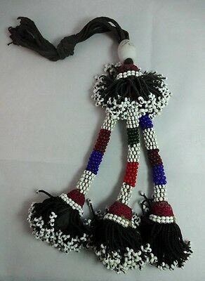 Antique Beaded Native Art Work -- Remarkable Condition