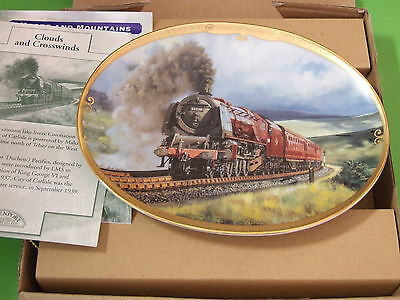 13# DAVENPORT COLLECTOR TRAIN PLATE LTD ED CLOUDS AND CROSSWINDS BOXED & COA