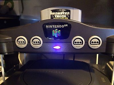 Nintendo 64 THS7314 RGB Amp & Blue LED installation service !  BEST PICTURE