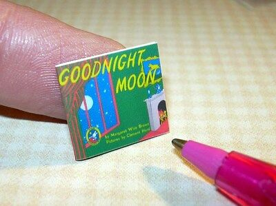 Miniature Tiny Favorite Bedtime Story Book for DOLLHOUSE (Not Real) 1/12 Scale