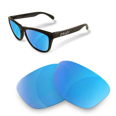 Polarized  Replacement Lenses for OAKLEY Frogskins ice blue color