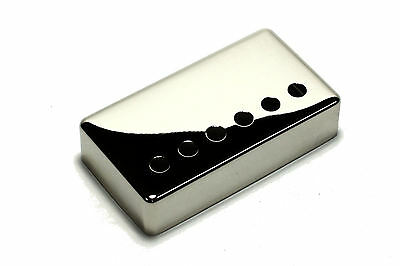 "Humbucker Pickup cover Nickel plated nickel silver 1 15/16"" (49.2mm) for Gibson"