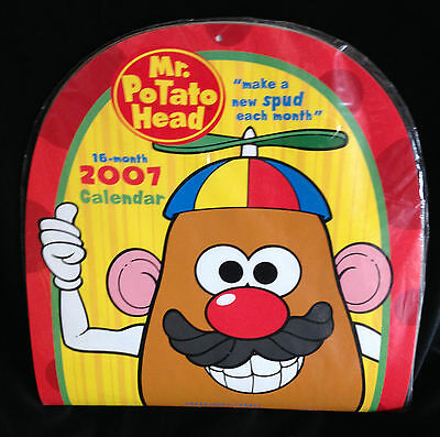 Mr Potato Head - 2007 Calendar - Unopened