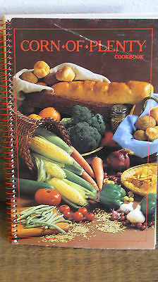 Corn of Plenty Spiral Cookbook Book ~ Pioneer Brand Products ~ Great Recipes