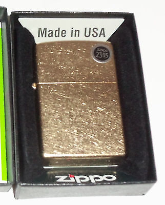 "NEW NOVELTY ""GOLD DUST"" DISTRESSED / MATTE GENUINE WINDPROOF Zippo LIGHTER"
