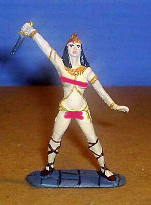 TOY SOLDIERS METAL ANCIENT AMAZON WOMAN 54MM