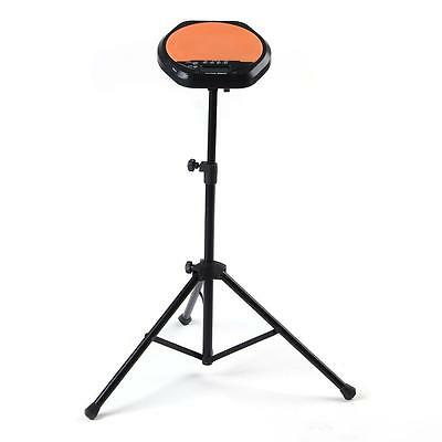 Metal Stand for Practice Training Drum Pad Music Black