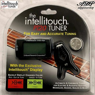 ACCORDEUR INTELLITOUCH PINCE PT20 Chromatique Compact CLASSIC CLIP ON TUNER