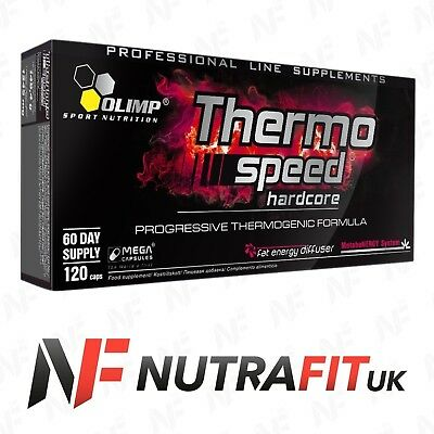 OLIMP THERMO SPEED HARDCORE MEGA CAPS fat burner weight loss slimming
