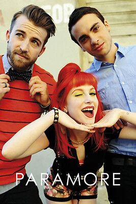 PARAMORE - GROUP MUSIC POSTER - 24 x 36 SHRINK WRAPPED - 33825