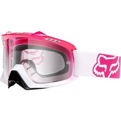 Fox Racing Mx Ladies Hot Pink Goggles Mx Enduro Motorcross Airspc Goggle