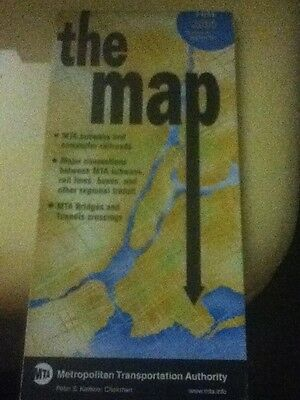 """""""The Map"""" New York City Subway Map + Other Information From September 2005"""