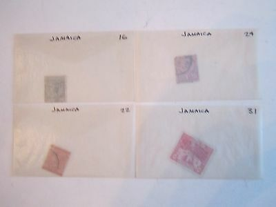 Early Jamaica Stamps - Sc#16 - 124 - Used - Ofc-1